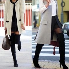 Suede Over The Knee Boots Gorgeous Faux Suede Over The Knee Thigh High Boots! Must have for fall and winter! Shoes Over the Knee Boots