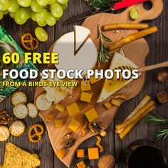These stock photos are perfect for web designers that need birds-eye view photos of food for their designs.  This pack saves you the embarrassment of standing on the table at your local restaurant trying to snap the perfect image of your food.