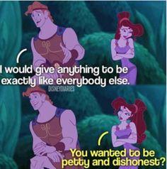 Meg from Hercules... Good point :D