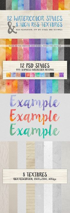 A great collection of handmade drawings, watercolor elements and watercolor patterns for your projects. If you are in need of a handmade touch for your projects then this set is perfect for you!