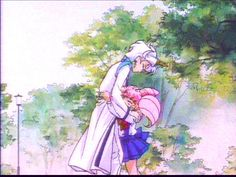 Sailor Moon - Chibiusa and Helios