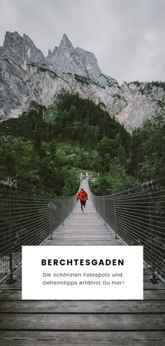 Die 12 schönsten Fotospots und Fotomotive in Berchtesgaden! Berchtesgaden is definitely one of the most beautiful regions in Bavaria! I'll show you my most beautiful photospots and tell you some insider tips! Europe Destinations, Outdoor Reisen, Les Continents, Outdoor Travel, Belle Photo, Most Beautiful, Places To Visit, Vacation, Adventure