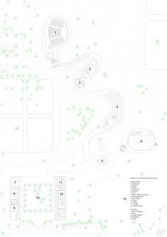 Grace Farms,Floor Plan