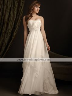 For only $239 you can wear this lovely, flowy gown, perfect for that destination wedding on the beach