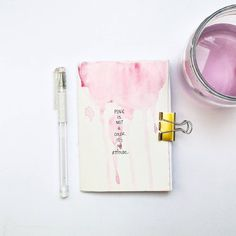 When @sarahundfuchs wrote me a message asking if I'd like to join a Colour Circle journal swap, I couldn't say no. I went with pink, because spring. And because it used to be my favorite colors as a child. 😋💖 I made my journal really small (about A6), because I wanted to experiment with different sizes. You can find the rest of the few pages I filled in on my blog www.alek-z.com (link in profile). Make sure to follow the rest of the contributors' journey with their #colourcirclejournals…