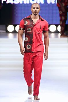 Becapani at Mozambique Fashion Week African Clothing For Men, African Shirts, African Clothes, African Inspired Fashion, African Print Fashion, African Design, African Style, Stylish Men, Men Casual