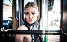 gTIE leather accessories, shield | Fashion Tram | photo: Staffan Ström