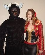 Matador and the Bull Costume