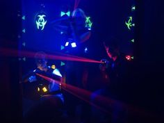 Zone laser tag - players are in Darkzone :)