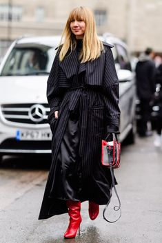 JULIELINGMA The Best Street Style from London Fashion Week