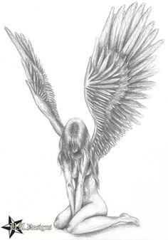 Fallen angel by Beckey0904