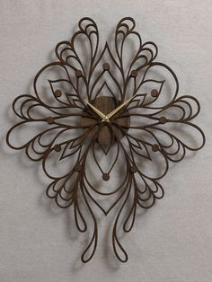 Sophia Clock by SarahMimoClocks on Etsy, $180.00
