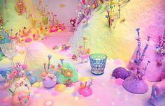 お砂糖でゆめかわいいを作るアーティスト。pip&popの世界観にきゅんっ♡* MERY [メリー]
