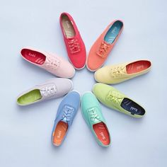 Got the rainy day blues? Cheer up with these colored Keds Champion Oxford #keds #kedsph #kedsshoes #sneakers #kedschampion #canvas #color #style #womensfashion #championcanvas #shoes #womenshoes #Padgram