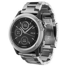 Die Garmin fenix 3 verfügt über ein Edelstahlarmband.  https://www.uhrcenter.de/uhren/garmin/smart-watch-armbanduhren/garmin-fenix-3-saphir-smartwatch-010-01338-41/