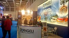 CWIEME Berlin 2015 has begun! Come to visit us at our stand.   De Angeli Prodotti