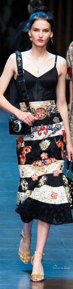 Dolce & Gabbana Spring 2016 | S.  Gold    ᘡղbᘠ