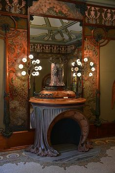 Georges Fouquet's jewellery shop decorated by Alfons Mucha… | Flickr