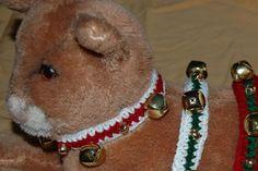 Jingle Bell Christmas Dog Collar