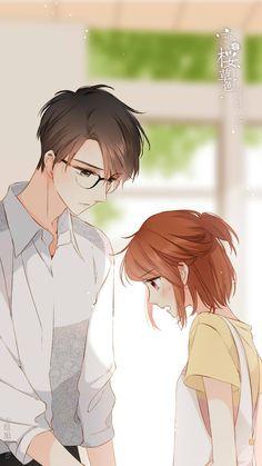 Pin by stelma noviana on anime beauty Anime Cupples, Anime Chibi, Kawaii Anime, Anime Guys, Anime Couples Drawings, Anime Couples Manga, Cute Anime Coupes, Sweet Drawings, Anime Love Couple