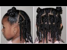 Easy 3 5 Days Leave in Hairstyle Sekora Designed Mommy Fail YouTub Easy Black Girl Hairstyles, Natural Hairstyles For Kids, Baby Girl Hairstyles, Kids Braided Hairstyles, Toddler Hairstyles, Short Haircuts, Short Hairstyles, Layered Hairstyles, Funny Hairstyles
