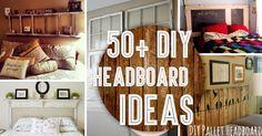 Outstanding DIY Headboard Ideas To Spice Up Your Bedroom - Diy kopfteil Diy King Headboard, Bed Headboard Design, Headboards For Beds, Headboard Ideas, Diy Projects Bedroom Decor, Bedroom Crafts, Cute Diy Projects, Bedroom Ideas, Pallet Projects