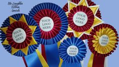 Quality award ribbons don't have to cost a fortune.  Visit McLaughlin Ribbon Awards today!