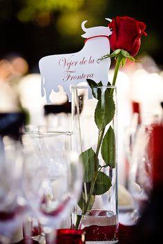Spanish style wedding in Sevilla designed by Reviva Weddings, photos by Limelight photography   junebugweddings.com