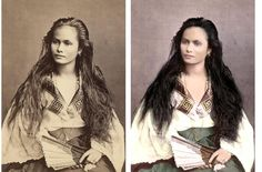 A mestiza de sangley in a photograph by Francisco Van Camp, c. Beauty Skin, Hair Beauty, Native American Girls, American Women, Philippines Culture, Filipino Culture, Tan Skin, Vintage Photos, Beautiful People