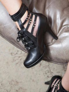 853a92746 Women s Shoes black Leather High Heel  Highheels Black Leather Shoes
