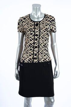 Nice Great Drop Waist Jacquard Knit Dress  Joseph Ribkoff 171784  Spring 2017 Retail $223 2017-2018 Check more at http://24store.ml/fashion/great-drop-waist-jacquard-knit-dress-joseph-ribkoff-171784-spring-2017-retail-223-2017-2018/