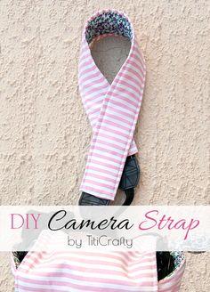 DIY Easy Camera Strap Tutorial