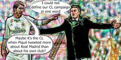Luis Enrique Could Not Define Barcelona's CL Campaign #Ramos #Pique #Enrique #Suarez #Messi #Neymar #Barça #FCBarcelona #Zidane #RealMadrid #Juventus #CL #Ronaldo  #HalaMadrid  #Madrid #Bale #Jokes #Comic #Laughter #Laugh #Football #FootballDroll #Funny #CR7 #FCBLive #ForçaBarça #LaLiga