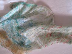 El estanque (65 x 65cm ) #Armonia.  charo santa ursula. #Pintura #seda. #decoración #Arte #Ilustración #regalo #sensibilidad #handmade #exclusivo #creatividad #marrón #amarillo #rosa #azul #turquesa #Mattisse #verde#rojo #Coaching #Madrid