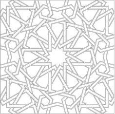 Center Tile Pattern
