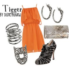 Tigger, created by lalakay on Polyvore