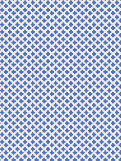 Stroheim: Dana Gibson quatrefoil wallpaper - Little Lanin 4762102 - Cobalt. Wallpaper and many more fabrics, trims, and wallpaper are available for the lowest price guaranteed at Designerfabricsusa.com