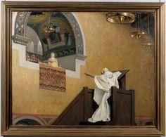 Saint Jean Chrysostome et l'impératrice Eudoxie Laurens Jean-Paul (1838-1921) 1893