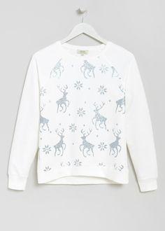 Reindeer Christmas Sweater - Matalan