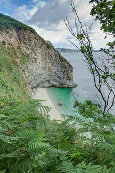 Phoebe's Point, St Austell Bay, Cornwall. England