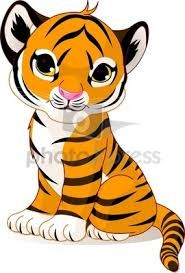 baby tiger face clip art clipart panda free clipart images rh pinterest com cute baby tiger clipart free cute baby tiger clipart