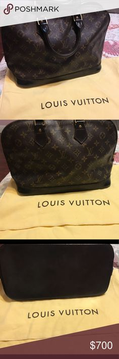 ❤️1hr Sale❤️Alma Beautiful LV Alma perfect condition tv higher 1000 no dust bag included Louis Vuitton Bags Shoulder Bags