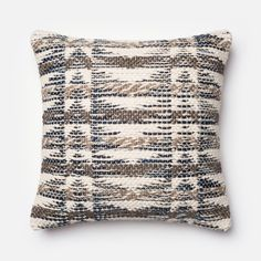 We love the rustic, western appeal of this pillow, perfect for a soft, organic space, lovely paired with a cowhide rug.