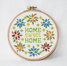 Home sweet home cross stitch pattern от AnimalsCrossStitch