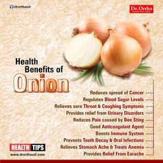 Health Tips For Living: Health Benefits of Onion