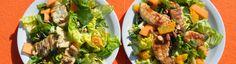 Salade met kip en mango van Janny van der Heijden