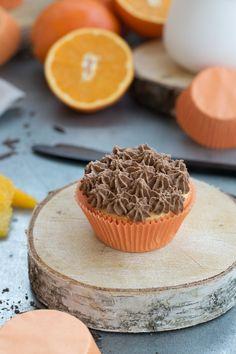 Orange küsst Schokolade - Cupcake, Cupcake Rezept, Backen mit Orange, Orangen Cupcakes Rezept