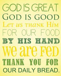 Printable, Christian, prayer, blessing, prayer, kitchen   Prayers ...
