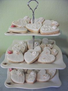 wedding cookies | Flickr - Photo Sharing!Can do these on lollipop sticks