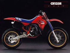 Vintage Motorcycles Vintage Brochures: Honda CR 500 R 1987 (Usa) Enduro Vintage, Vintage Motocross, Vintage Bikes, Vintage Motorcycles, Vintage Racing, Mx Bikes, Motocross Bikes, Racing Motorcycles, Cool Bikes